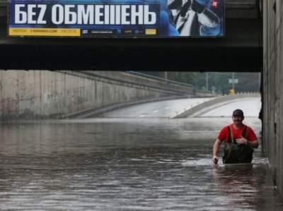 Синоптики рассказали, сколько осадков на самом деле выпало в Киеве