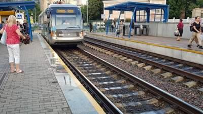 В Киеве временно перестанут курсировать три трамвайных маршрута