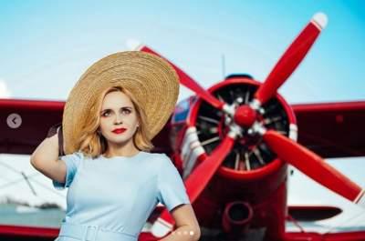 Известная украинская телеведущая снялась в символической фотосессии