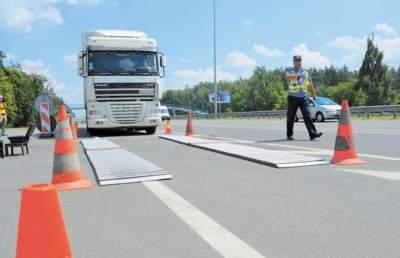 Стало известно, как в Украине будут взвешивать грузовики