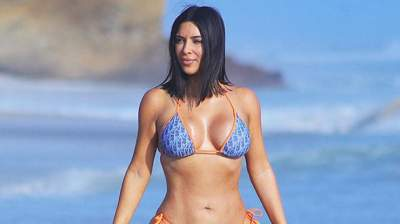 Ким Кардашьян похудела и озвучила свой вес