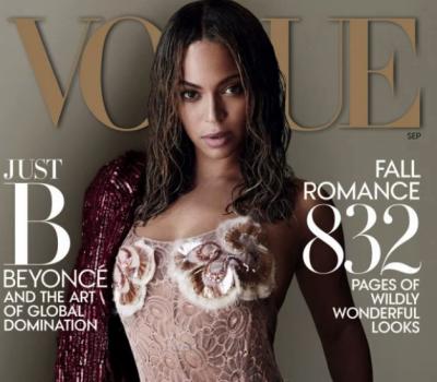 Бейонсе станет моделью Vogue