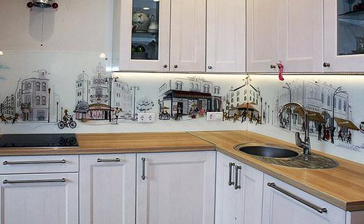 Уникальный способ украсить кухню – скинали