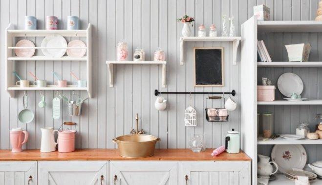 Кухонные полки для дома и заведений питания