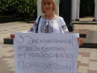 Мать Кольченко рассказала о встрече с сыном