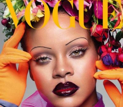 Рианна стала звездой британского Vogue