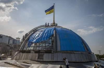Стало известно, во сколько обойдется ремонт купола Верховной Рады