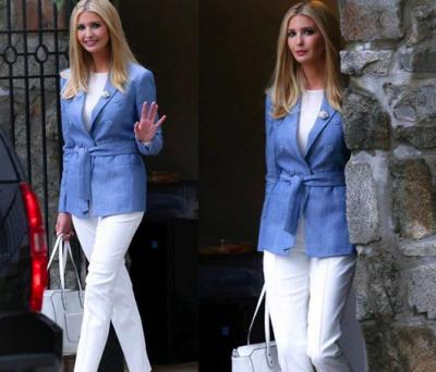 Иванка Трамп показала стильный летний образ
