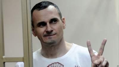 В РФ сообщили о состоянии здоровья Сенцова