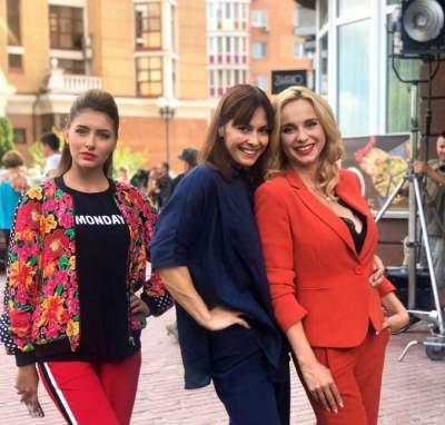 Лилия Ребрик снимается в новом сериале