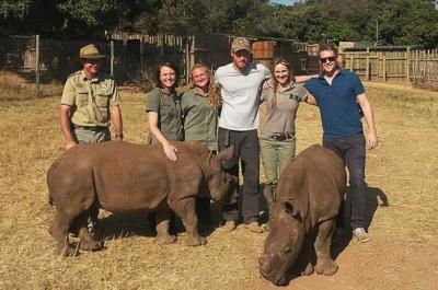Принц Гарри поехал в Ботсвану без Меган Маркл