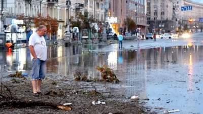 Названы районы Киева, больше всего пострадавшие от непогоды