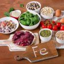 Названы продукты с наибольшим содержанием железа