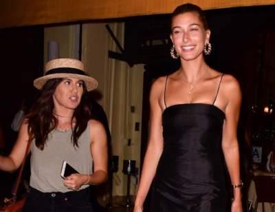Папарацци заметили невесту Джастина Бибера в ресторане