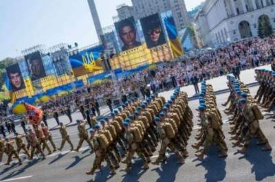 В соц.сетях пользователи устроили скандал из-за парада на День Независимости в Киеве