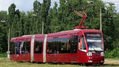 Ночью ряд киевских трамваев поменяют маршрут движения