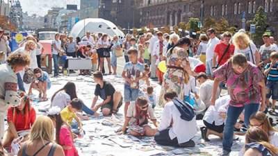 На Крещатике пройдет фестиваль «Самая большая карта мечты»