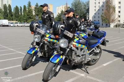 Киевская полиция будет патрулировать улицы на новых мотоциклах