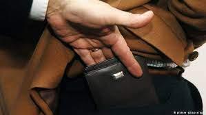 В Киеве карманники украли у сотрудника СБУ 10 тысяч гривен