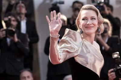 Кейт Бланшетт посетила мероприятие в необычном платье