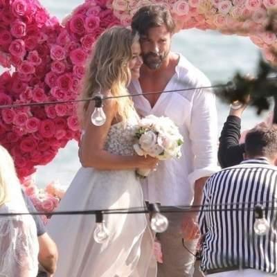 Звезда Голливуда сыграла свадьбу