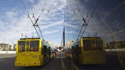 В Киеве временно закроют движение троллейбусов