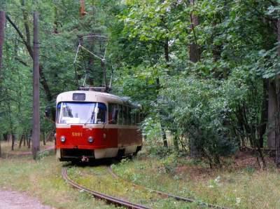 В Киеве закроют трамвайный маршрут