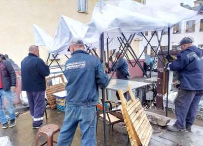 В Киеве начали демонтаж незаконных торговых точек