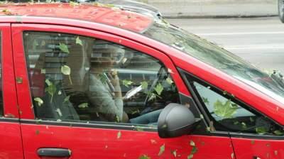 Киевляне оставили предупреждение «герою парковки»
