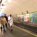 В Киеве жители устроили флешмоб против отключения воды