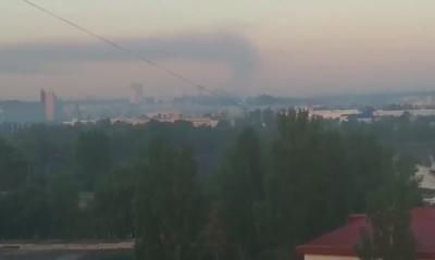 Киевляне жалуются на сильный смог