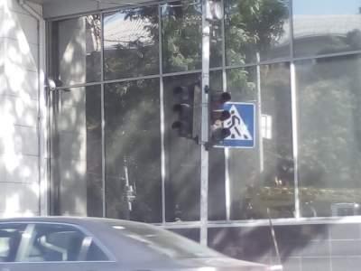 Киевлян возмутили неработающие светофоры на нескольких улицах