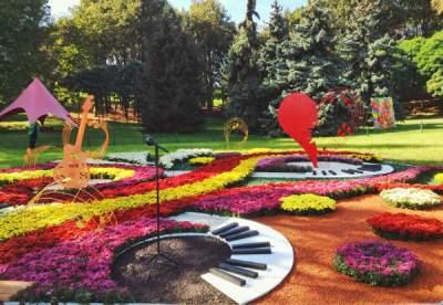 Киевлян приглашают на фестиваль цветов