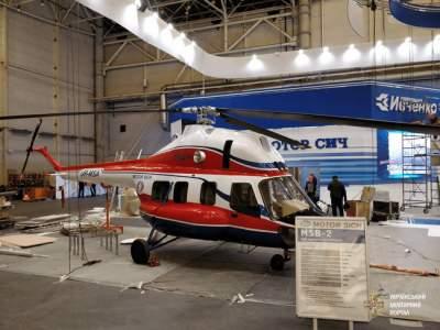 В Киеве показали новый украинский вертолет