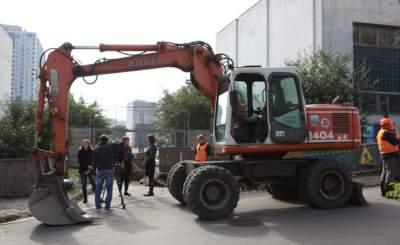 В Киеве из-за аварии нет воды на двух улицах