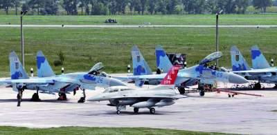 В Украине проходят крупнейшие авиационные учения