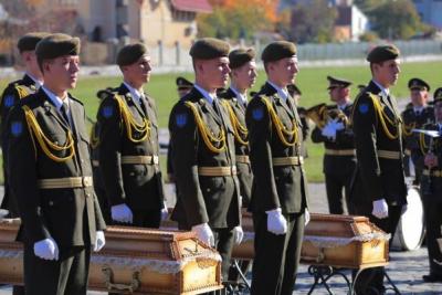 Во Львове перезахоронили воинов УПА