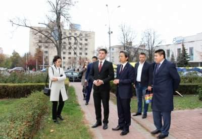 В центре Киева появится китайский сквер