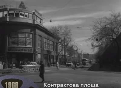 В Киеве установили экраны с кинохроникой изменений улиц