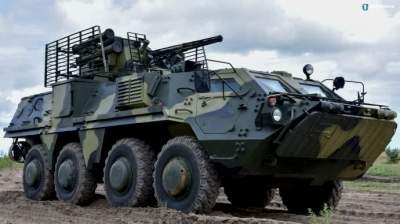 Украинские военные получили первую партию новейших БТР