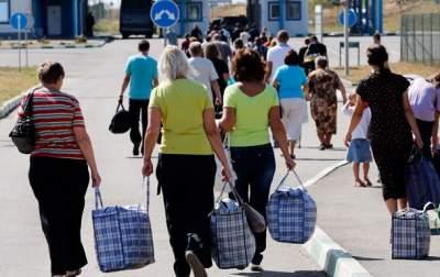 В Украине посчитали переселенцев с Донбасса