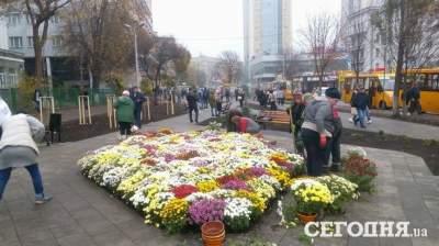 В Киеве возле КПИ открыли новый сквер