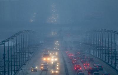 Украинцев предупредили о туманных выходных