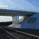 Украинские военные восстановили разрушенный боевиками мост