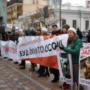 В Киеве у стен Рады собрались зоозащитники