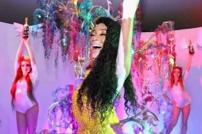 «Модель-далматинец» посетила мероприятие в Майами