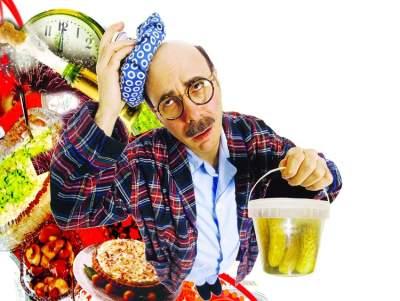 Медики рассказали, как не начать год с пищевого отравления