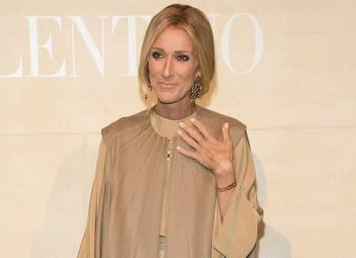 Селин Дион не смогла сдержать слез на модном мероприятии