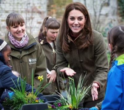 Кейт Миддлтон создала сад в Челси
