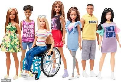 Производитель Барби анонсировал выпуск кукол с инвалидностью